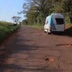 Motoristas reclamam da falta de manutenção nas rodovias da região