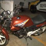 Motocicleta com motor furtado é apreendida em Umuarama