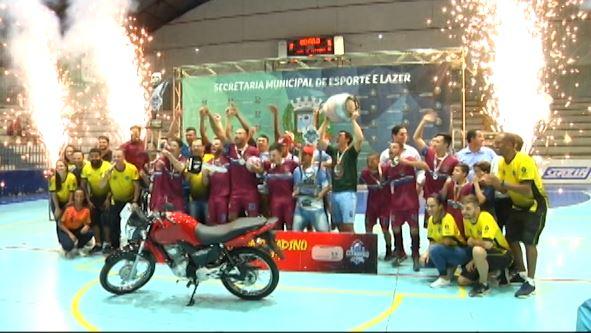 Ó o Gás é campeão da chave prata do Citadino de Futsal