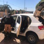 Polícia Militar apreende veículo preparado para o contrabando em Umuarama