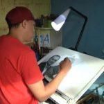 Jovem de Umuarama impressiona com desenhos realistas