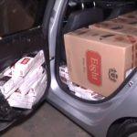 Veículos são apreendidos com cigarros contrabandeados em Umuarama