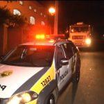 Caminhoneiro fica na mira de criminosos armados na PR-082