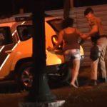 Família é presa após roubar carro no parque Bonfim, em Umuarama