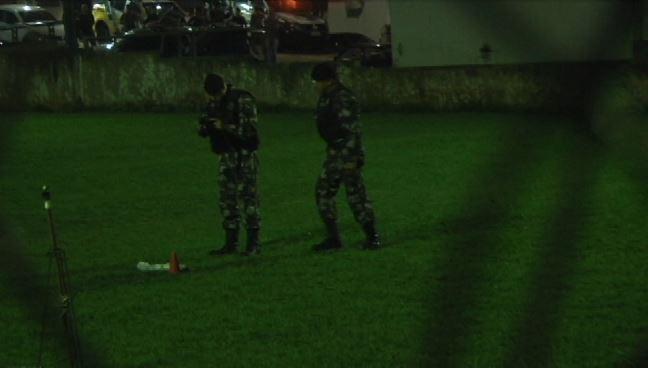 Esquadrão antibombas detona dinamite encontrada na cadeia de Umuarama