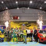 Clínica Veterinária Santa Clara  é tricampeã do Citadino de Futsal