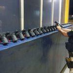 PRF apreende 29 pistolas em um carro na BR-277 no Paraná