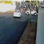 Câmera de segurança flagra acidente que matou motociclista em Goioerê