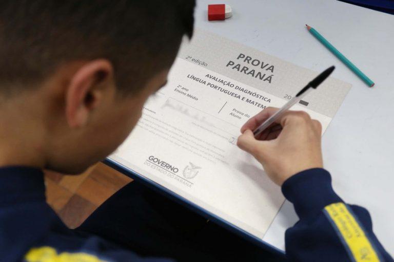 Cerca de 1 milhão de alunos farão a Prova Paraná