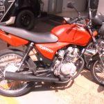 Motocicleta com placa adulterada é apreendida em Umuarama