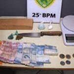 Homem com tornozeleira eletrônica é preso com droga em Umuarama
