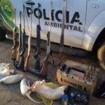 Polícia Ambiental prende dois homens por abate de animais silvestres em Loanda