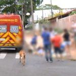 Dois adolescentes ficam feridos após sofrerem queda de bicicleta em Umuarama