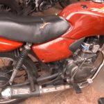 PM apreende motocicleta com motor adulterado em Umuarama