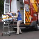 Motociclista fica ferido após acidente na avenida Rio Grande do Norte