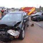 Quatro pessoas ficam feridas após acidente na PR-323, em Umuarama