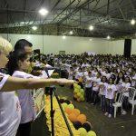 Prefeitura e PM realizam formatura de 1.100 alunos no Proerd 2019