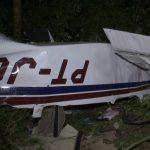 Queda de avião mata três pessoas da mesma família em Cascavel