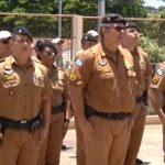 Dia da Bandeira é comemorado no 25º Batalhão de Polícia Militar, em Umuarama