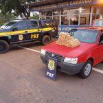 Casal de namorados que transportava maconha é preso  em Alto Paraíso