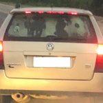 Vaca é flagrada sendo transportada no porta-malas de carro na PR-340
