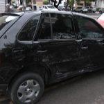 Acidente envolvendo dois carros é registrado no centro de Umuarama