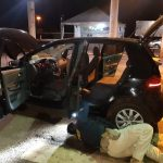 PRF recupera em Guaíra carro roubado no estado de São Paulo