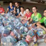 Grupo Resgate arrecada alimentos para ajudar famílias carentes de Umuarama