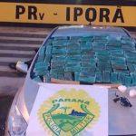 Dupla que seguia para Umuarama com 43 quilos de maconha é presa pela PRE