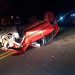 Adolescente de 14 anos morre após carro capotar entre Xambrê e Casa Branca