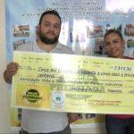 'Doação Premiada' repassa mais de R$ 5 mil para Associação Vida e Solidariedade