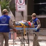 Trabalhador fica ferido após cair de escada em Umuarama