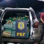 Traficante gaúcho com 631 kg de maconha acaba preso na BR-272