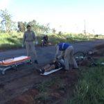 Homem fica ferido após sofrer queda de bicicleta na PR-482