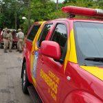 Bombeiros auxiliam nas buscas por idoso desaparecido em Umuarama
