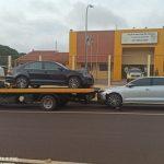 PM apreende carros preparados para o contrabando em Umuarama