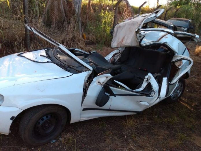 Três pessoas morrem em grave acidente de trânsito na PR-182
