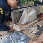 Peruano é preso com 75 quilos de maconha na BR-277