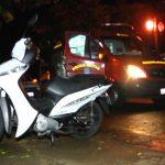 Casal fica ferido após sofrer queda de moto em Umuarama
