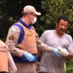Homem que levou tiro na mão é suspeito de praticar furto em Umuarama, diz PM