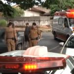 Motociclista embriagado provoca acidente de trânsito em Umuarama