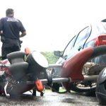 Acidente de trânsito envolvendo três veículos deixa homem ferido em Umuarama