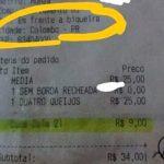 """Pedido de pizza vira caso de polícia depois que cliente dá """"biqueira"""" como referência"""