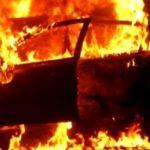 Corpo é encontrado dentro de carro pegando fogo em Juranda
