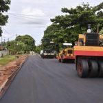 Pavimentação de ruas de Serra dos Dourados está praticamente concluída