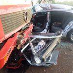 Mulher morre e três pessoas ficam feridas em acidente na BR-163