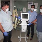 Empresários doam respirador e EPIs ao Instituto Nossa Senhora Aparecida