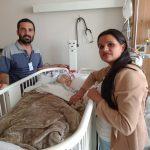 Cirurgia do pequeno Otto é um sucesso e família agradece apoio e orações