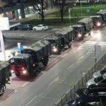 Imagens de caminhões transportando corpos emocionam italianos; vídeo faz alerta