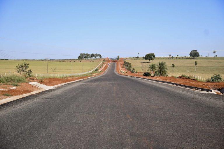 Obras de pavimentação da Boiadeira já se aproximam de Serra dos Dourados